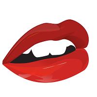セクシーな口唇