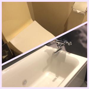 風呂とトイレが別のホテル