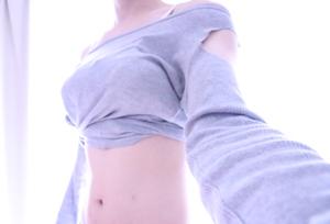 自作女装服のコーディネート例