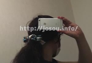 スカーフでヘアアレンジする方法