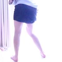 バスタオルを使ってスカート女装する方法