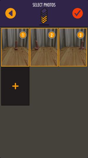 Clone Camera Proで使用する写真を選択