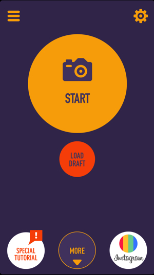 Clone Camera Proの最初の画面