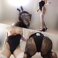 バニーガールでコスプレ女装オナニー体験談!ハイレグのセクシーさと脚長効果でスタイル抜群!