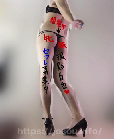 アナルオナニー&自画撮り女装オナニーがはかどる淫語 落書き例