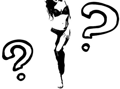 疑問に思うセクシー女装子